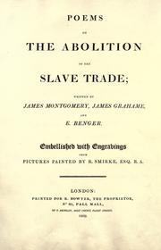 Cover of: Poems on the abolition of the slave trade by