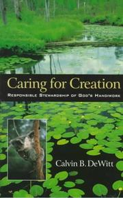 Cover of: Caring for creation