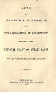 Acts passed at the first[-second] session of the Second Congress of the United States of America by United States