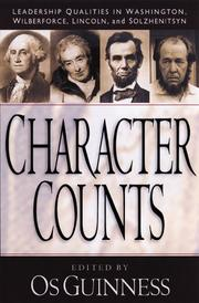 Cover of: Character Counts