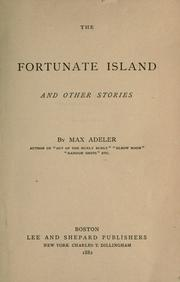 Cover of: The fortunate island