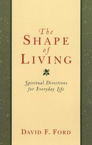 Cover of: The shape of living