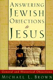 Cover of: Answering Jewish Objections to Jesus, vol. 1