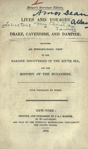 Lives and voyages of Drake, Cavendish, and Dampier by C. I. Johnstone