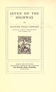 Cover of: Seven on the highway, by Blanche Willis Howard