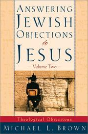 Cover of: Answering Jewish objections to Jesus