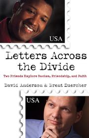 Cover of: Letters Across the Divide | David Anderson