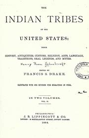 Cover of: The Indian tribes of the United States