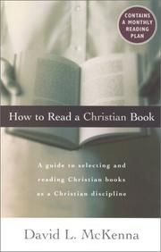 Cover of: How to read a Christian book