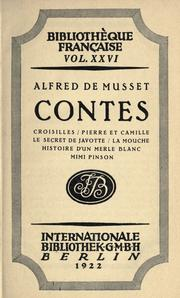 Cover of: Contes