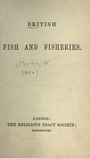 Cover of: British fish and fisheries