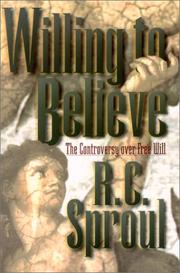 Cover of: Willing to Believe | R. C. Sproul