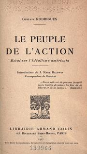 Cover of: Le peuple de l'action