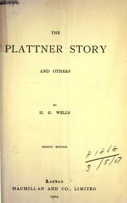 Cover of: The Plattner story, and others