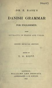 Cover of: Danish grammar for Englishmen