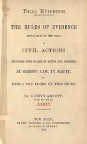 Trial evidence by Austin Abbott