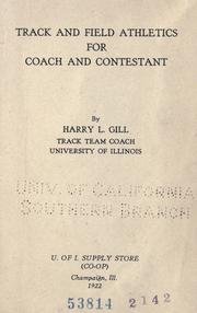 Cover of: Track and field athletics for coach and contestant