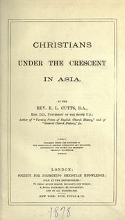 Cover of: Christians under the crescent in Asia