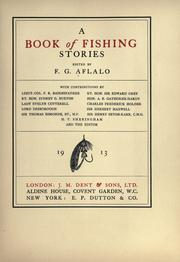 Cover of: A book of fishing stories