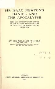 Cover of: Daniel and the Apocalypse