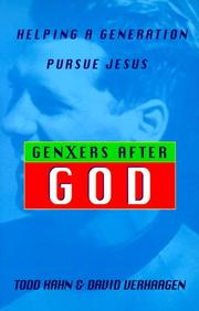 Cover of: GenXers after God