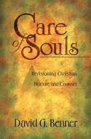 Cover of: Care of souls