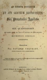 Cover of: Appeal of a Protestant to the Pope to restore the law of nations