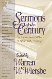 Cover of: Sermons of the Century: Inspiration from 100 Years of Influential Preaching