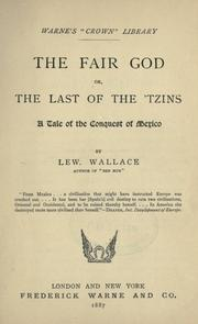 The fair god by Lew Wallace