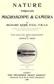 Cover of: Nature through microscope & camera | Kerr, Richard.