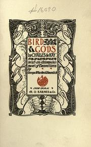 Cover of: Bird gods