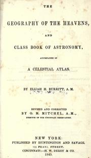 Cover of: The geography of the heavens
