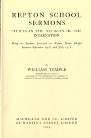 Cover of: Repton School sermons