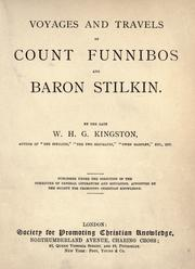 Cover of: Voyages and travels of Count Funnibos and Baron Stilkin