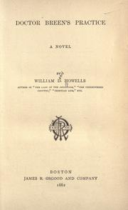 Doctor Breen's practice by William Dean Howells