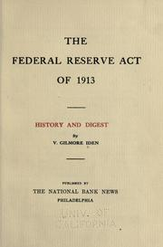 Image result for federal reserve act of 1913