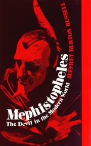 Cover of: Mephistopheles