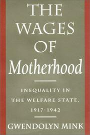Cover of: The Wages of Motherhood