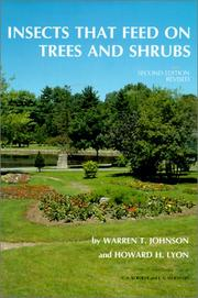 Insects that feed on trees and shrubs by Warren T. Johnson