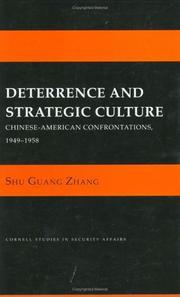 Cover of: Deterrence and strategic culture