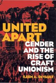 Cover of: United Apart | Ileen A. Devault