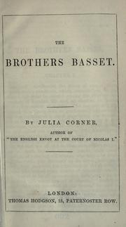 Cover of: The brothers Basset