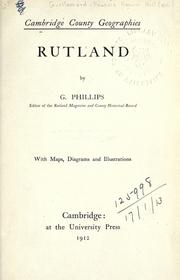 Cover of: ... Rutland