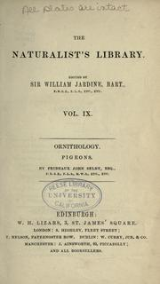 Cover of: Natural history of pigeons