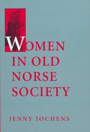 Cover of: Women in Old Norse Society