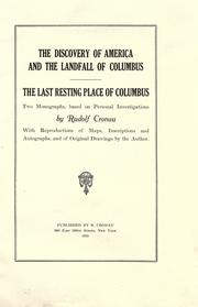 Cover of: The discovery of America and the landfall of Columbus