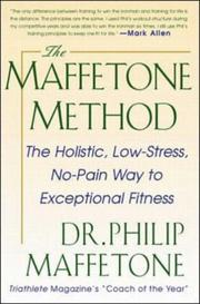 Cover of: The Maffetone method