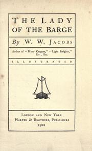 Cover of: The lady of the barge