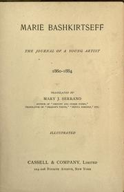 Cover of: Marie Bashkirtseff