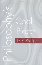 Cover of: Philosophy's cool place